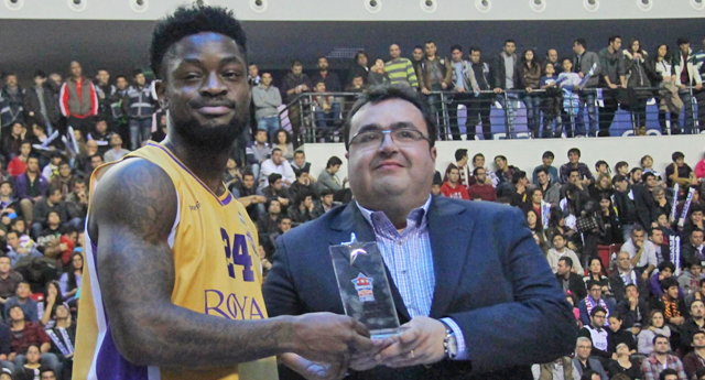 Beko All-Star Smaç Şampiyonu Terrico White