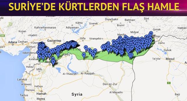 Suriyeli Kürtlerden demokratik özerklik ilanı