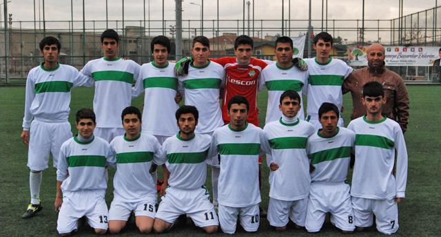 Nizipspor gençleriyle farklı 9 – 0