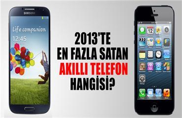 2013te en fazla satan akıllı telefon hangisi?