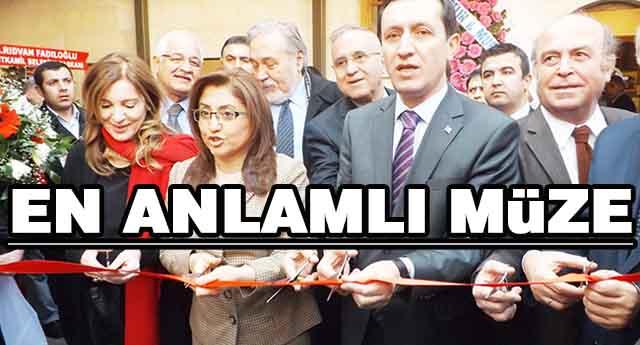 Türkiye'ye örnek müze