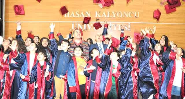 10 yaşında Üniversite mezunları