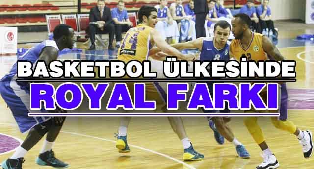 Royal Halı\'dan basketbol dersi