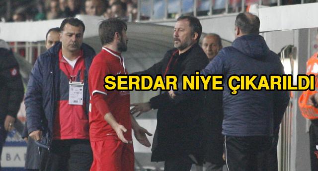 SERGEN\'E TEPKİ