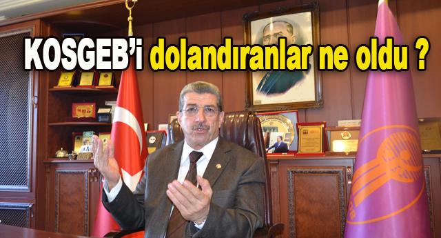 """Küsbeoğlu """"Yeter artık"""" dedi"""