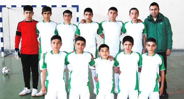 Şahinbey ortaokulu mutlu 2-1