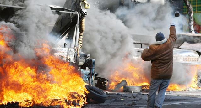 Kiev\'de Suriye kokusu