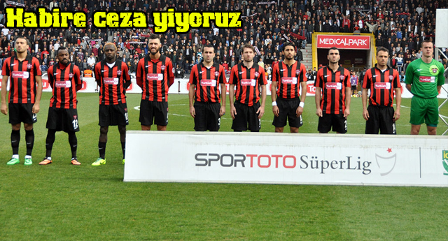 Gaziantepspor\'a ne kadar ceza geldi ?