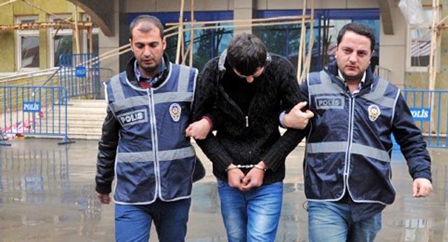 Gaspçılar gözaltında