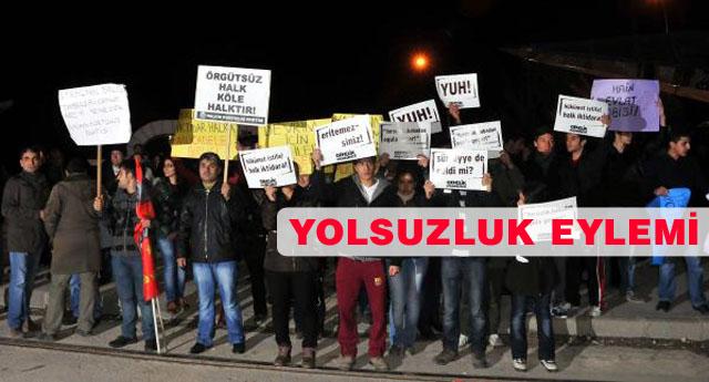 Ak Parti Seçim merkezine saldırdılar