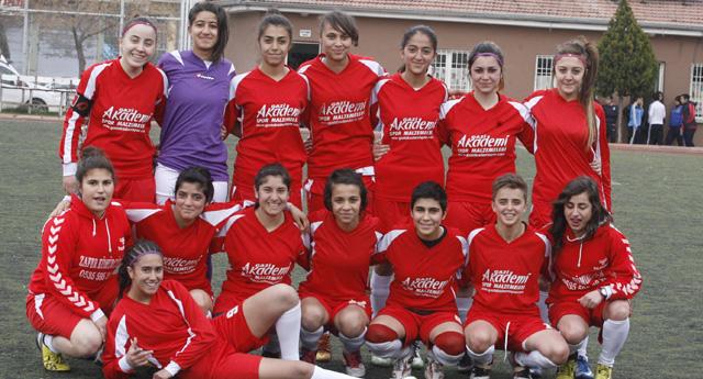 Gazikent'in kızları hedefi vurdu 3 – 0