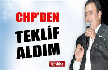 Mahmut Tuncer: CHPden teklif aldım