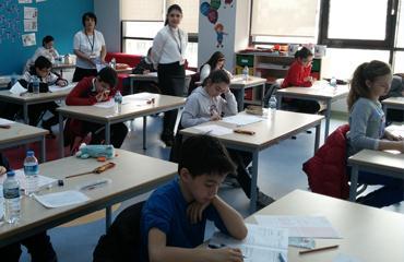 Dünya Okuluna Kabul Sınavı yoğun ilgi gördü