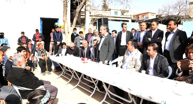 Mahalle olan köylere destek