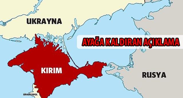 Kırım Rusya\'ya bağlanma kararı aldı