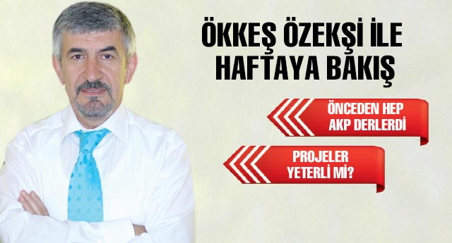 ÖNCEDEN HEP AKP DERLERDİ...