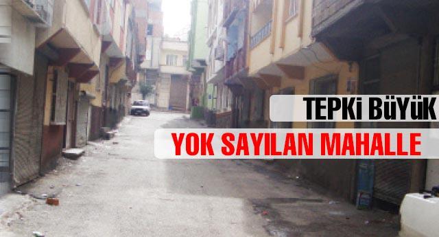 MAHALLE SAKİNLERİ TEPKİLİ