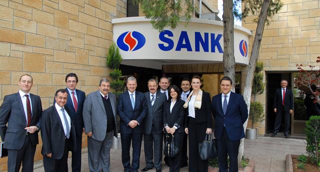 Yapı Kredi\'den Sanko\'ya ziyaret