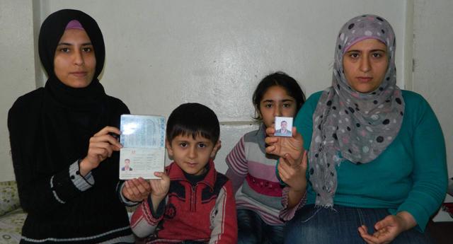 Suriyeli aile zor durumda