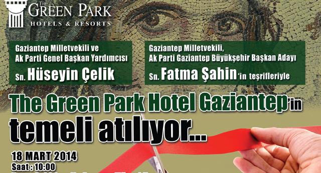 Green Park temel atıyor