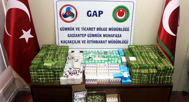 Mısır'dan kaçak ilaç getirmişler