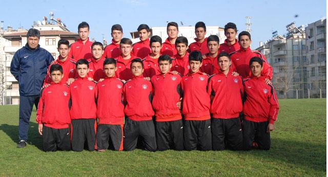 Gaziantepspor U-15 Türkiye şampiyonasına gidiyor