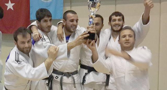 GAÜN  Judo Şampiyonunda Birinci Oldu