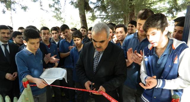 Öğrenciler sergi açtı