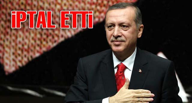 Başbakan Erdoğan'ın iki mitingi iptal edildi