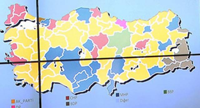 74 ilin Belediye başkanları belirlendi