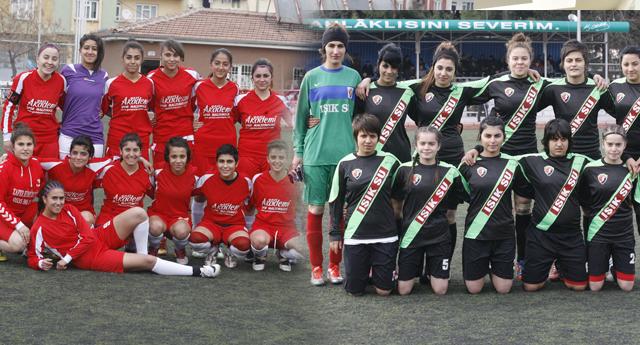 Bayanlarda Gaziantep derbisi