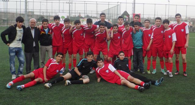 Şahinbey futbol takımı u17 Türkiye şampiyonasında