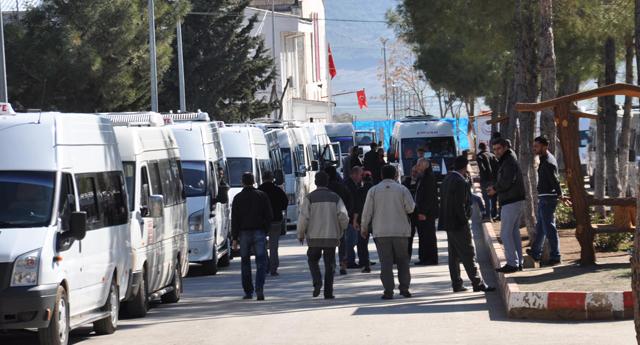 Suriyeli'ler Nusaybin'e gönderildi