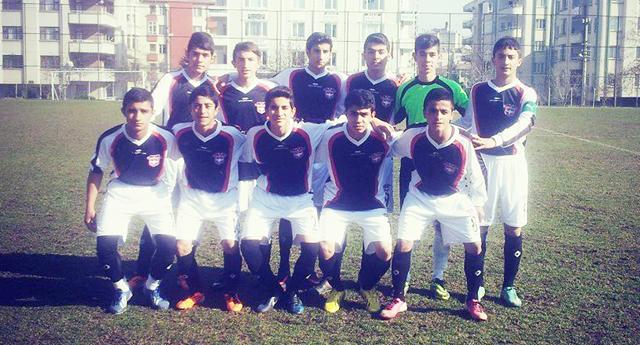 Gaziantepspor U14 tek geçti 1 – 0