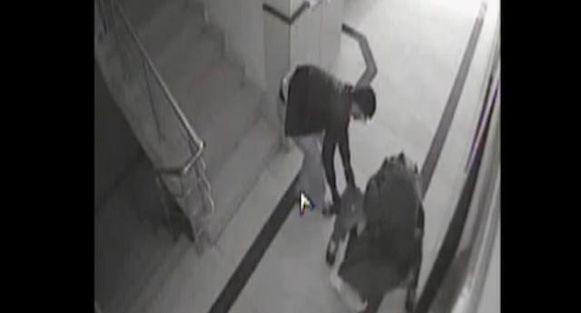 Kasa hırsızlığı kamerada