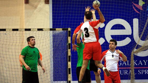 İşitme engelliler Hentbol şampiyonası Ankara'da