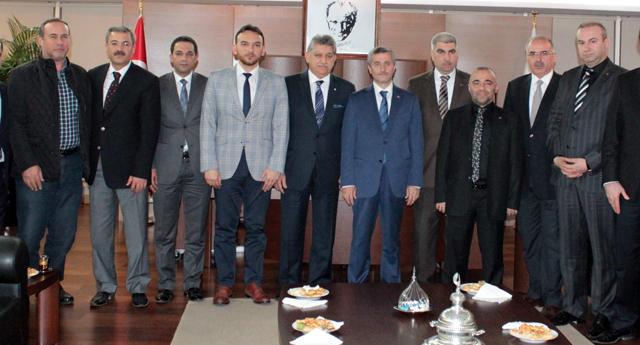 MÜSİAD'dan Tahmazoğlu'na ziyaret
