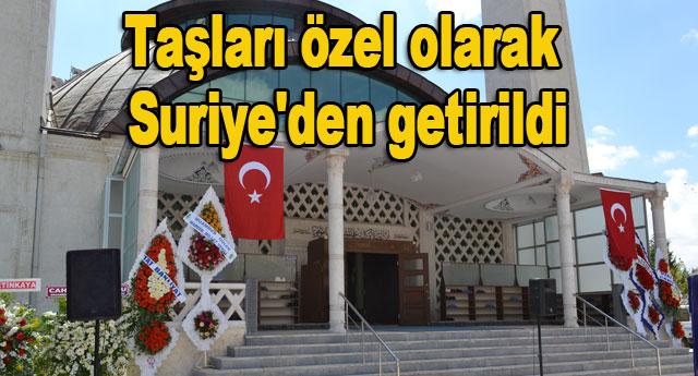 Selim Memiş Camii açıldı