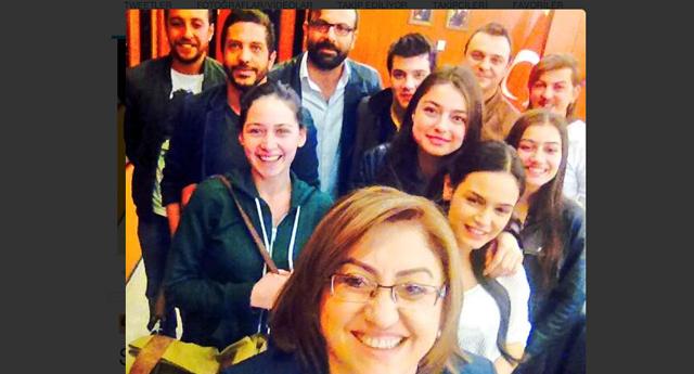Bu da Fatma Şahin Selfie'si