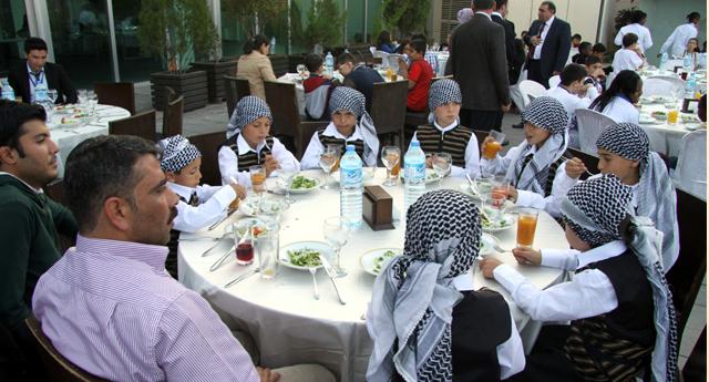 Dünya çocuklarına özel menü