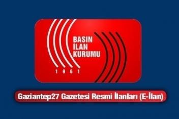 19.04.2014 RESMİ İLAN
