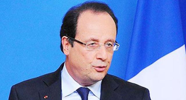 Hollande'dan Türkiye'ye teşekkür