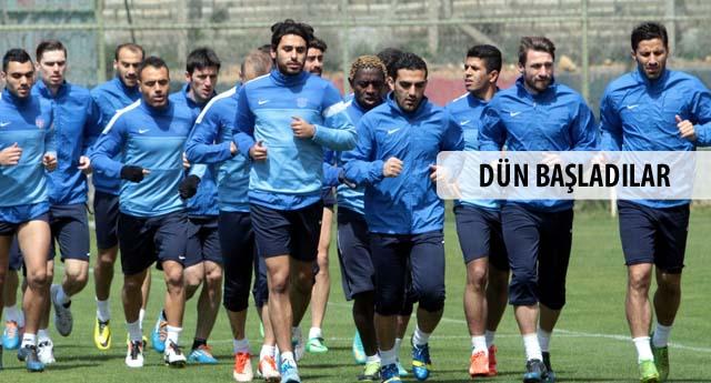 Trabzon hazırlığı başladı