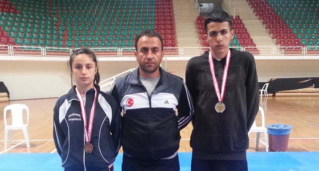 Şahinbey'in Taekwondocuları finallerde