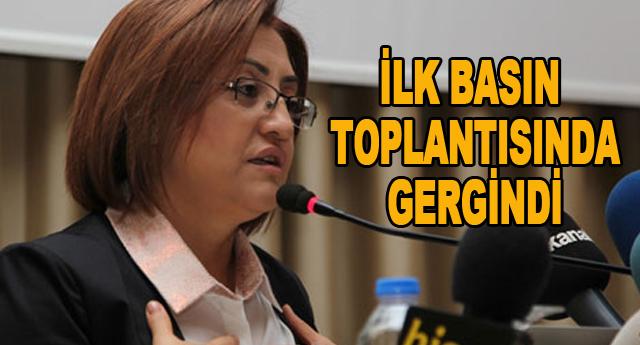 Fatma Şahin basın toplantısı yaptı