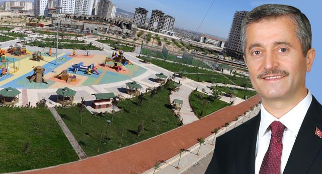 Şahinbey'den park atağı