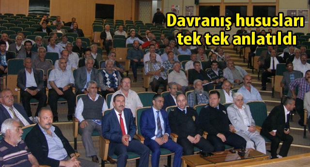 SERVİS  ŞOFÖRLERİNE SEMİNER