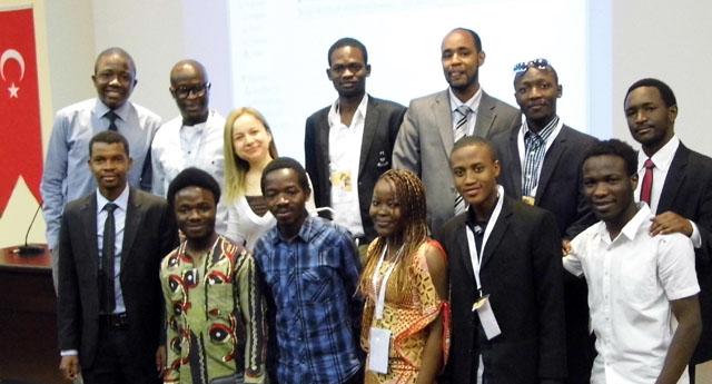 Afrikalı öğrenciler buluştu