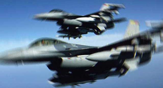 SURİYE, F-16 UÇAKLARINI TACİZ ETTİ