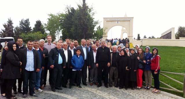 MÜSİAD üyeleri Çanakkale'yi gezdi
